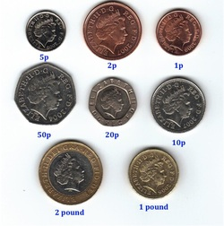 Image result for pence in pound sterling